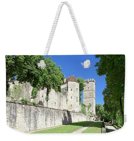 Saint-louis Tower And Aubespin Tower Weekender Tote Bag