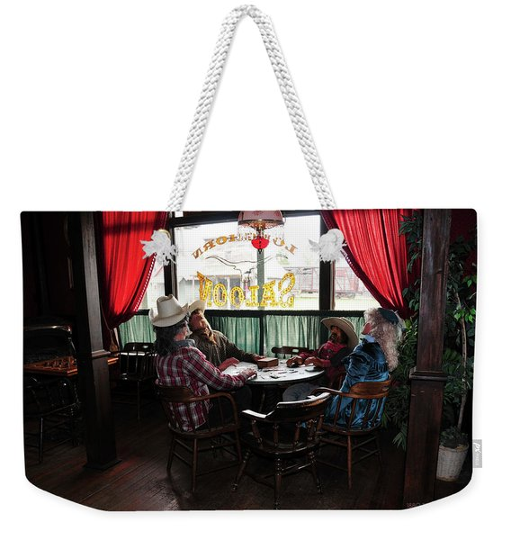 Saloon 1880 Town South Dakota Weekender Tote Bag