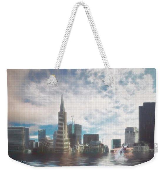 San Francisco 2030 Weekender Tote Bag