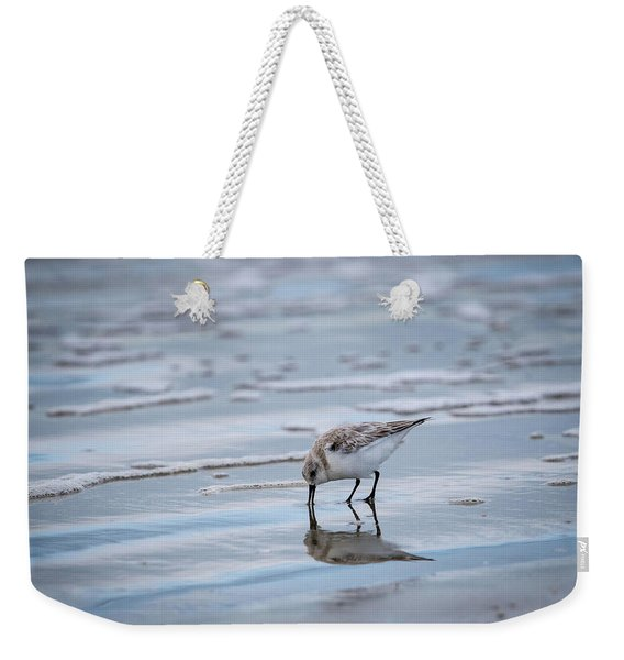 Sanderling Foraging Weekender Tote Bag