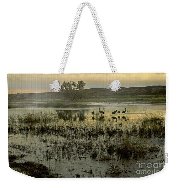 Sandhill Serenity Weekender Tote Bag