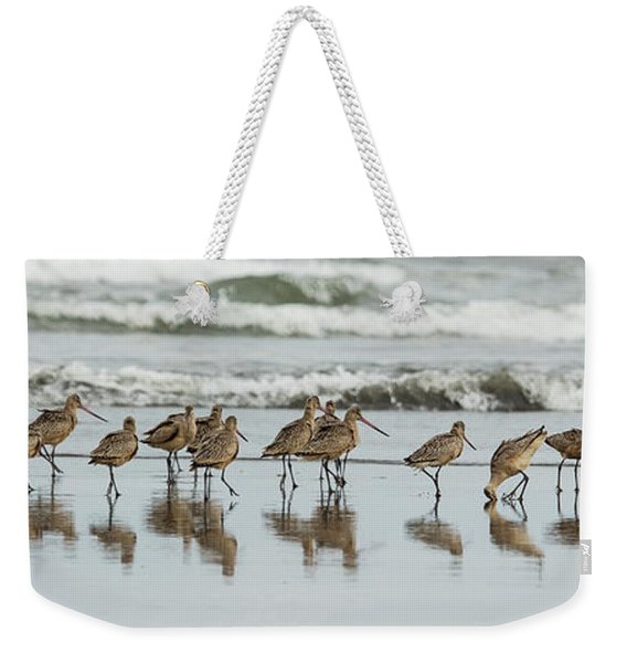 Sandpipers Piping Weekender Tote Bag