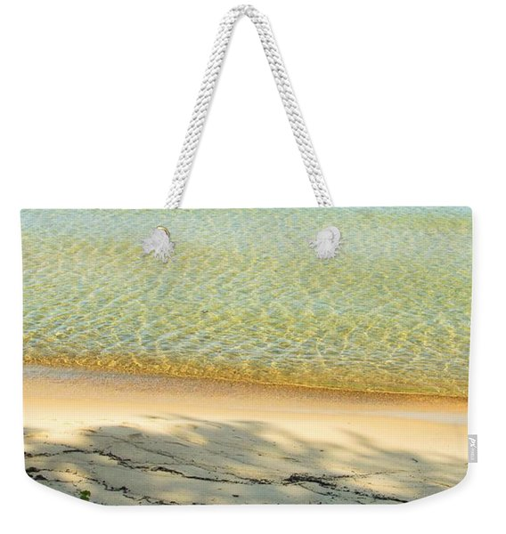 Sandy Blue Weekender Tote Bag