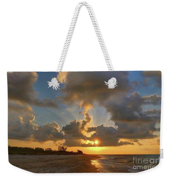 Sanibel Island Sunrays Weekender Tote Bag