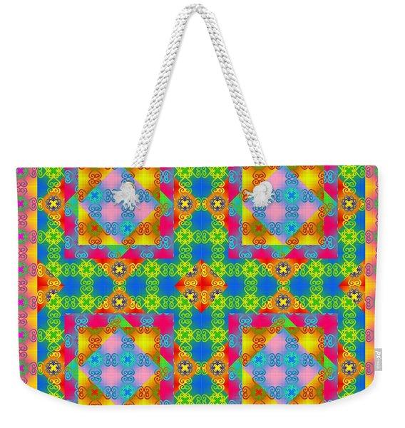 Sankofa Kaleidoscope 1 Weekender Tote Bag