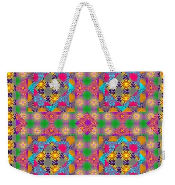 Sankofa Kaleidoscope 2 Weekender Tote Bag