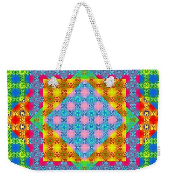 Sankofa Kaleidoscope Prime 1 Weekender Tote Bag