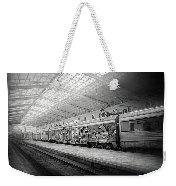 Santa Apolonia Railway Station Lisbon Weekender Tote Bag