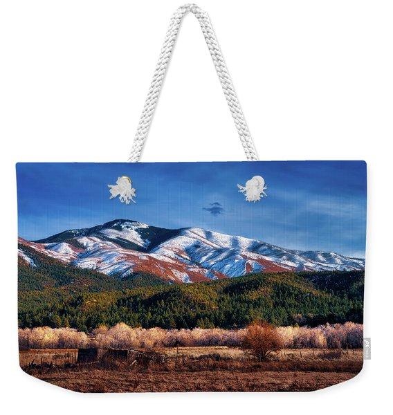 Santa Fe Baldy Mountain Weekender Tote Bag
