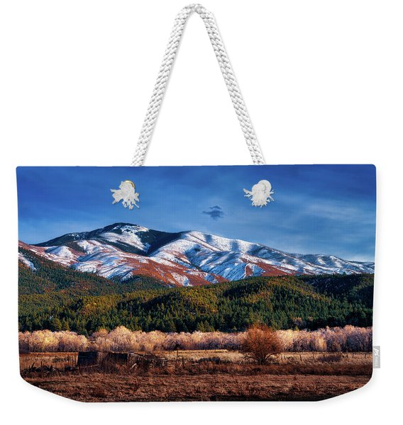 Santa Fe Baldy Mountain Weekender Tote Bag