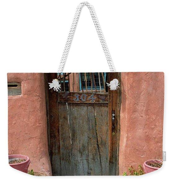 Santa Fe Door Weekender Tote Bag