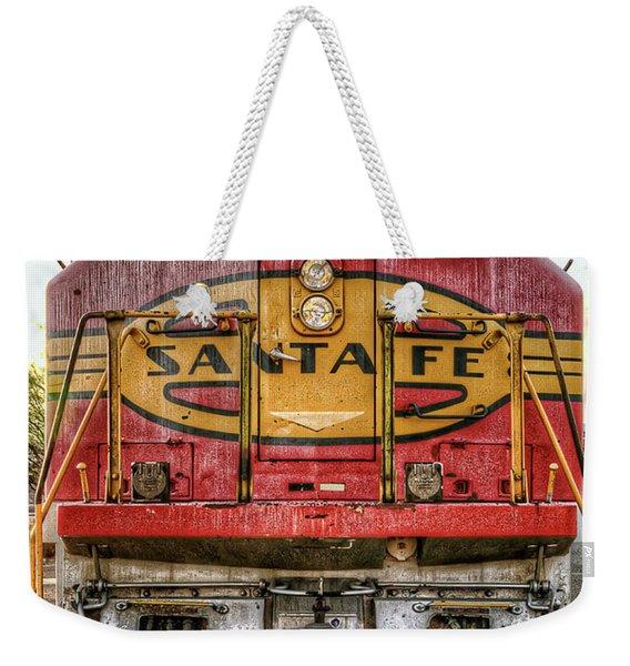 Santa Fe Train Engine Weekender Tote Bag