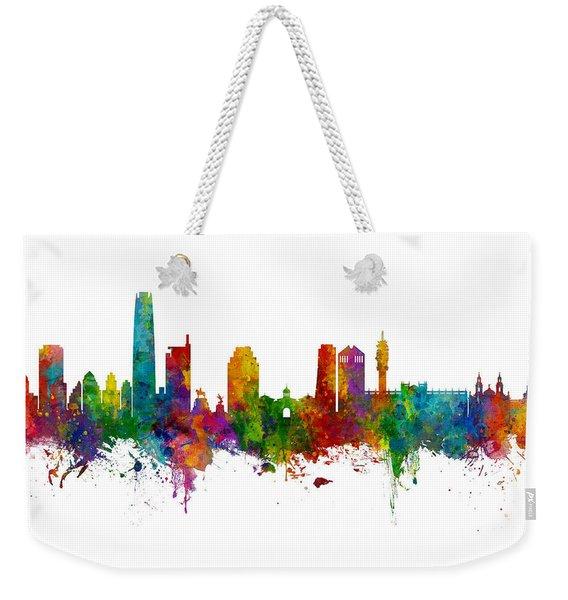 Santiago De Chile Skyline Weekender Tote Bag