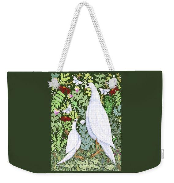 Sapientes Pacis Birds Weekender Tote Bag