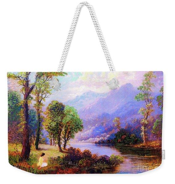 Sapphire Dreams Weekender Tote Bag