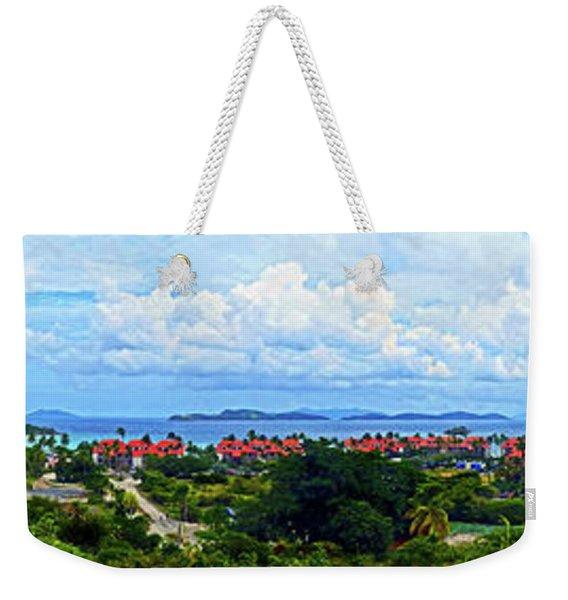 Sapphire Panorama Weekender Tote Bag