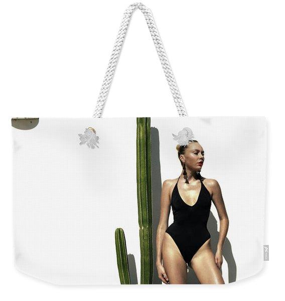 Sasha Dubrovskaya Standing Weekender Tote Bag