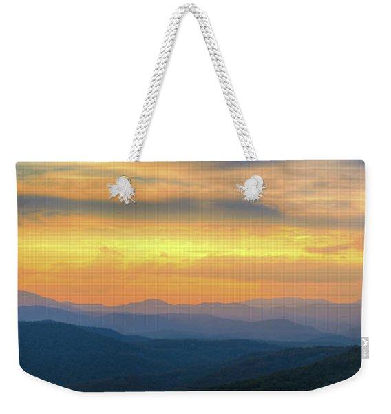 Sassafras Sunset Weekender Tote Bag