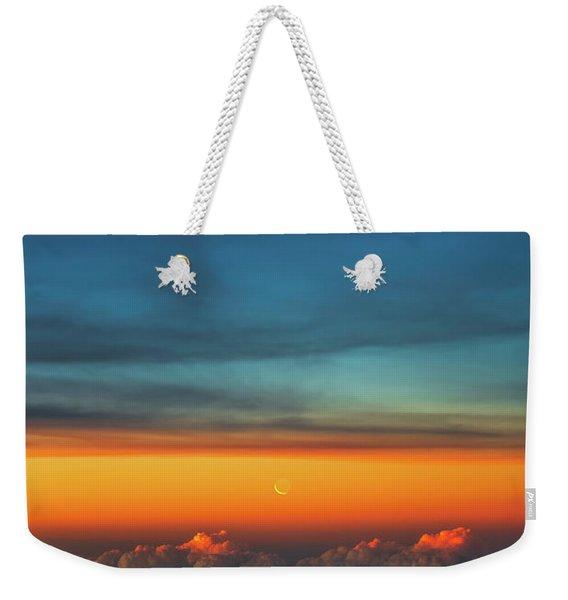 Satellite Weekender Tote Bag
