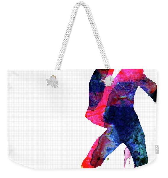 Saturday Night Fever Watercolor Weekender Tote Bag