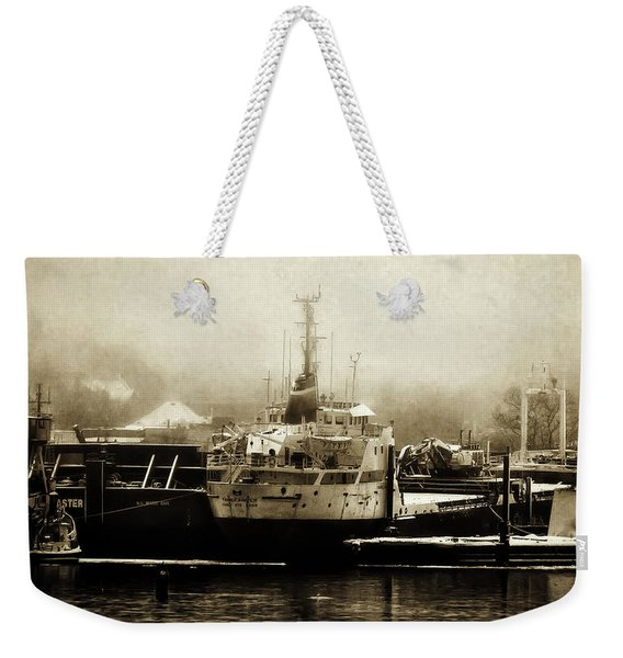 Sault Canada Waterfront Weekender Tote Bag