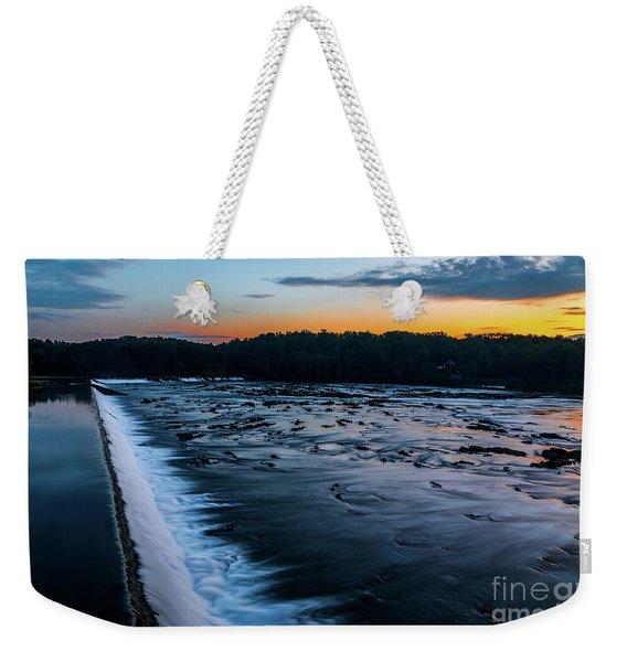 Savannah Rapids Sunrise - Augusta Ga Weekender Tote Bag