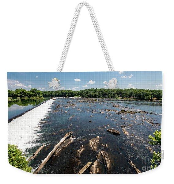 Savannah River Rapids - Augusta Ga Weekender Tote Bag