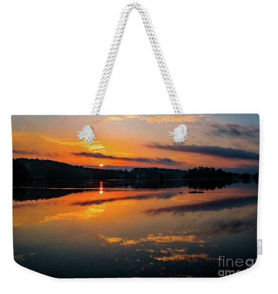 Savannah River Sunrise - Augusta Ga 2 Weekender Tote Bag