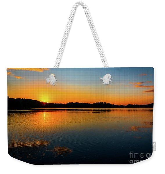 Savannah River Sunrise - Augusta Ga Weekender Tote Bag