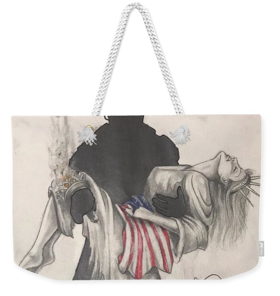 Saving Liberty Weekender Tote Bag