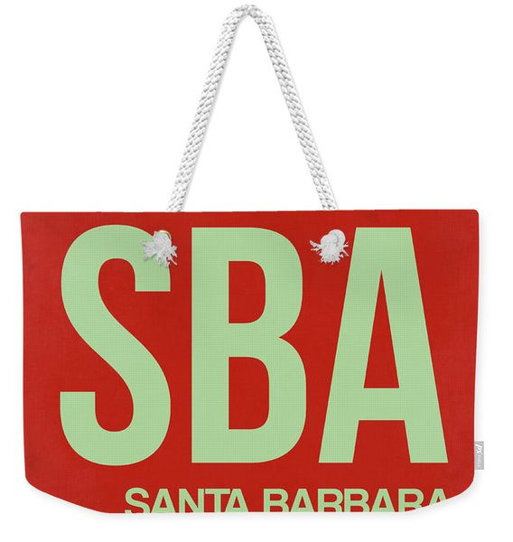 Sba Santa Barbara Luggage Tag II Weekender Tote Bag