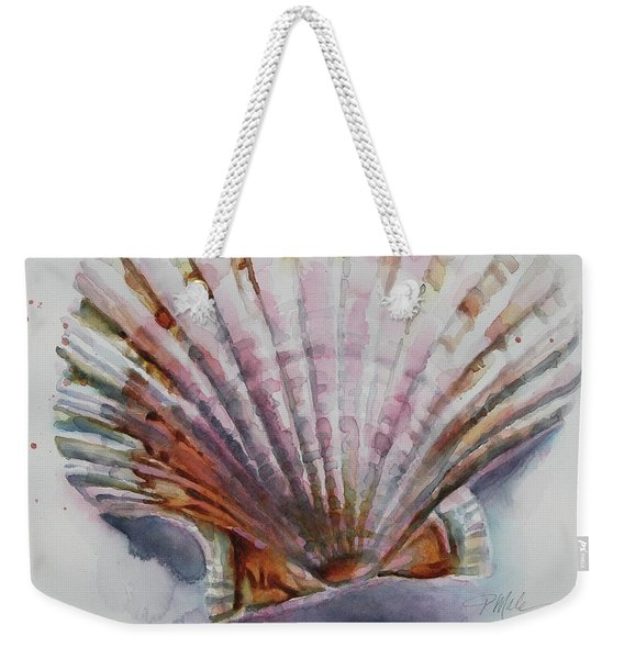 Scallop Seashell Weekender Tote Bag