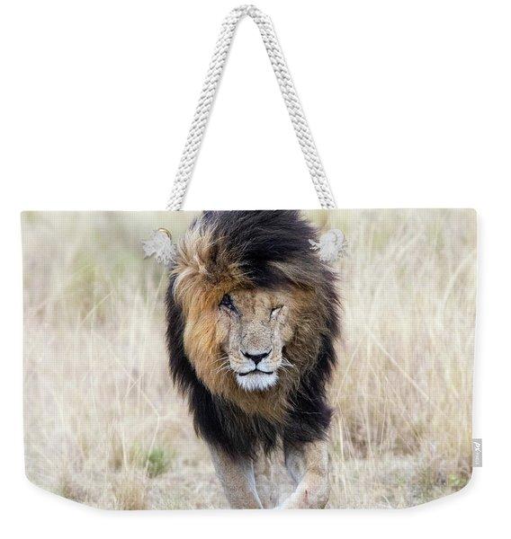 Scar The Lion Weekender Tote Bag