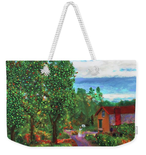 Scene From Giverny Weekender Tote Bag