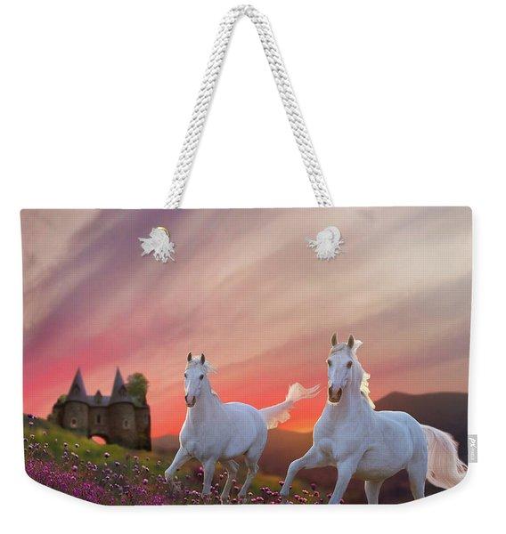 Scotland Fantasy Weekender Tote Bag