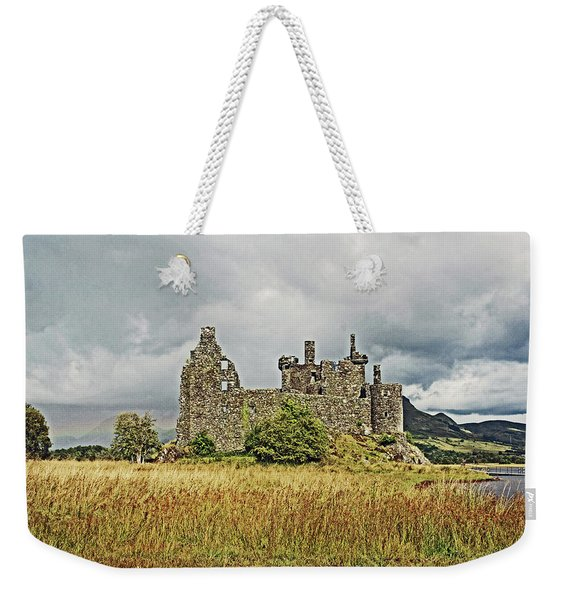 Scotland. Loch Awe. Kilchurn Castle. Weekender Tote Bag