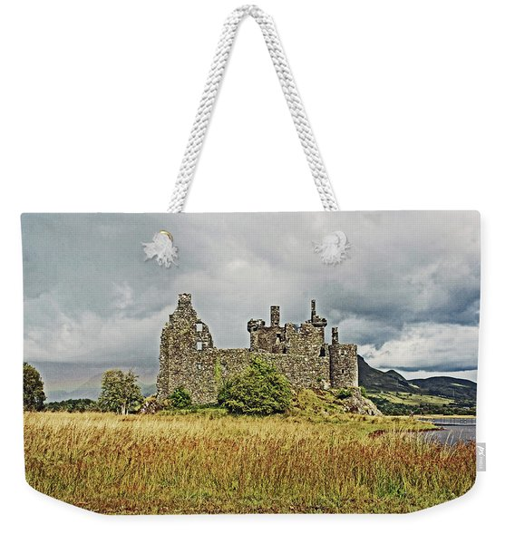 Scotland. Loch Awe. Kilchurn Castle. Weekender Tote Bag