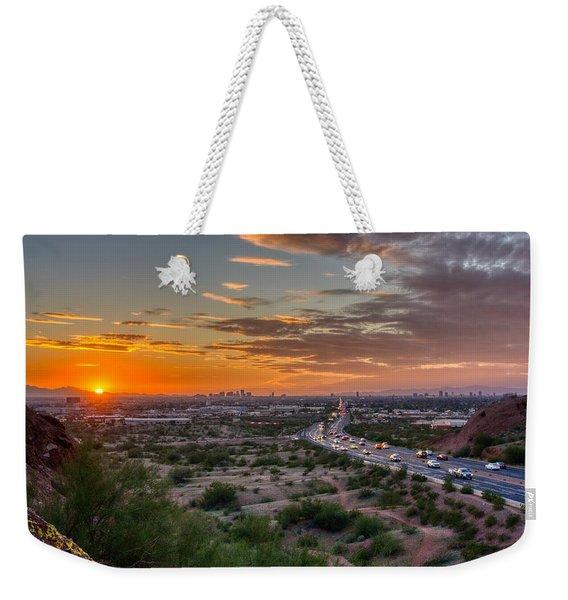 Scottsdale Sunset Weekender Tote Bag