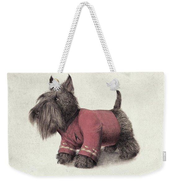 Scotty Weekender Tote Bag
