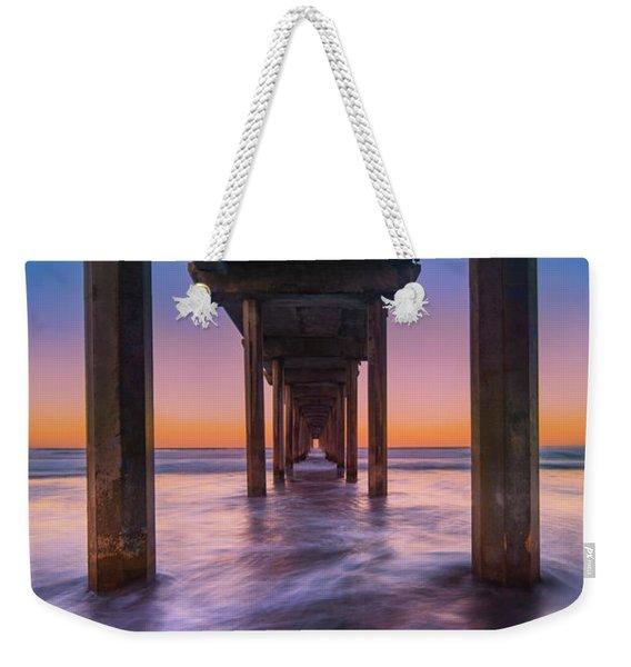 Scripps Pier - 2 Weekender Tote Bag