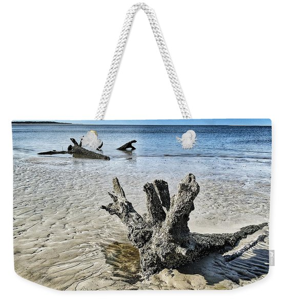 Sculpted By The Sea Weekender Tote Bag