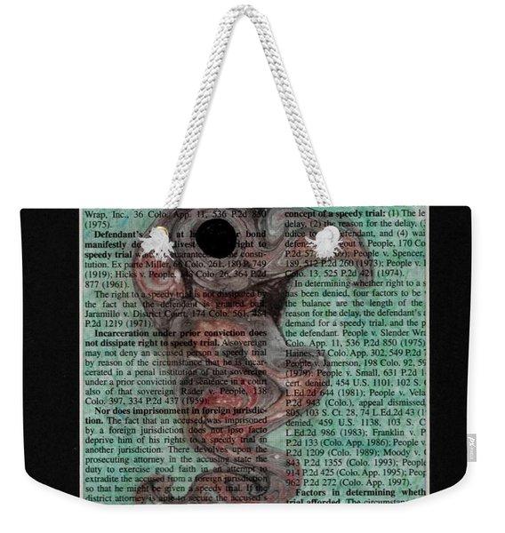 Sea Raven  Weekender Tote Bag