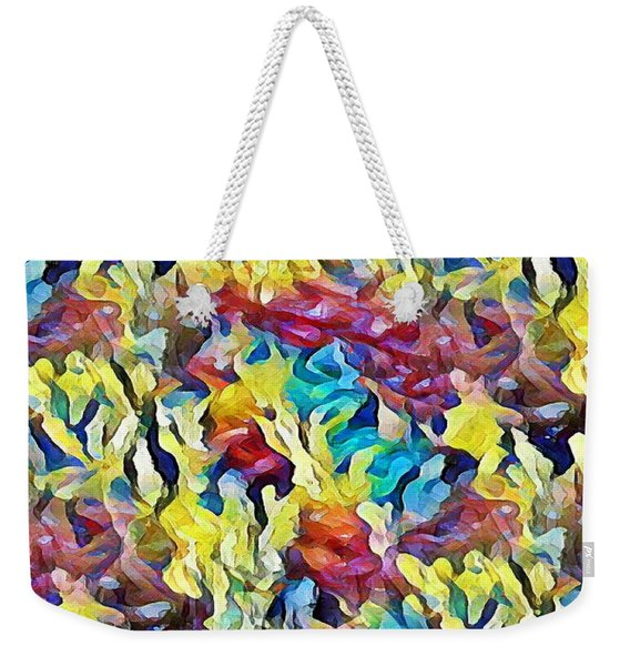 Sea Salad Weekender Tote Bag
