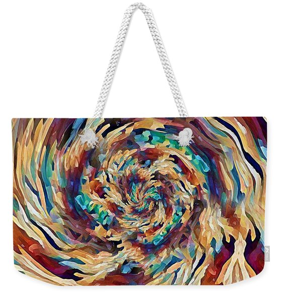 Sea Salad Swirl Weekender Tote Bag