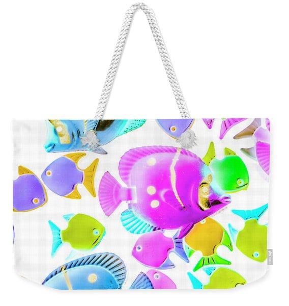 Sea Swimmers Weekender Tote Bag
