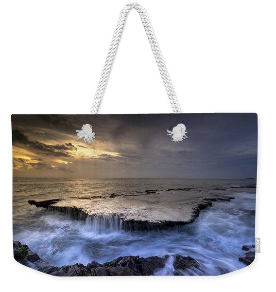 Sea Waterfalls Weekender Tote Bag