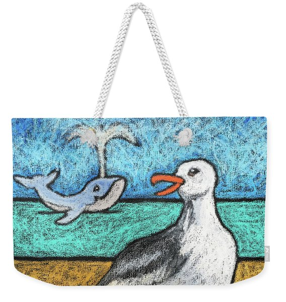 Seagull And Friends Weekender Tote Bag