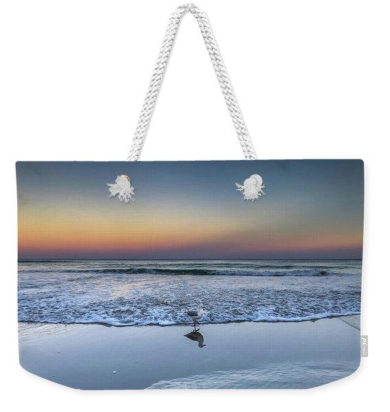 Seagull On The Beach Weekender Tote Bag