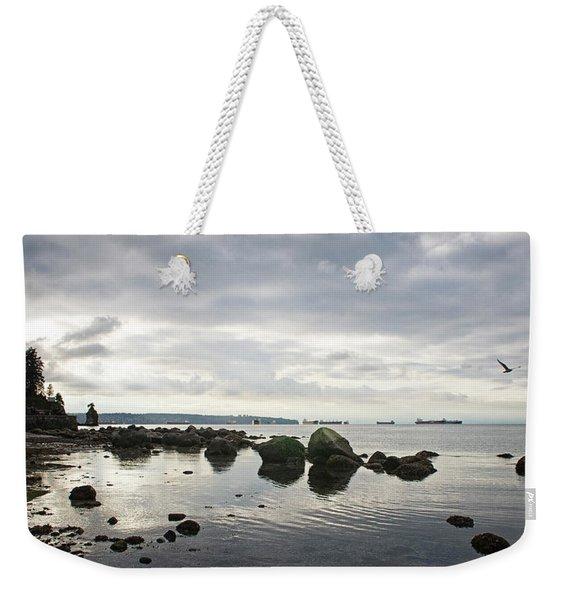 Seagull Seascape Weekender Tote Bag