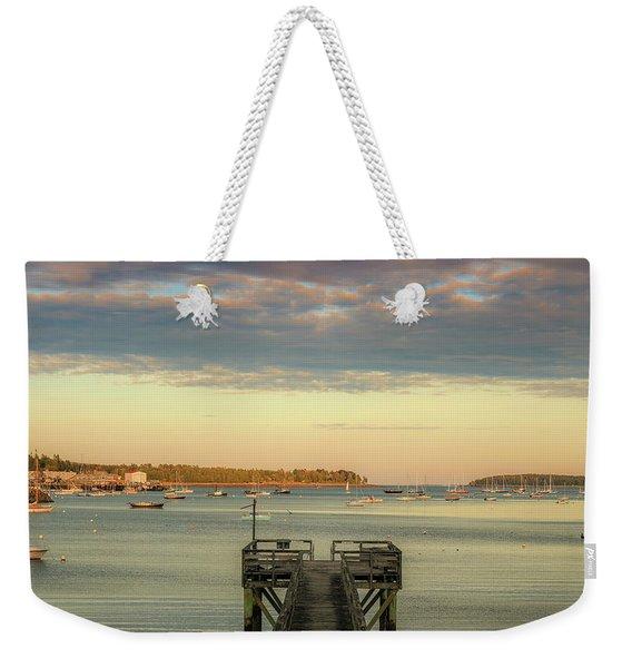 Seal Harbor At Low Tide Weekender Tote Bag